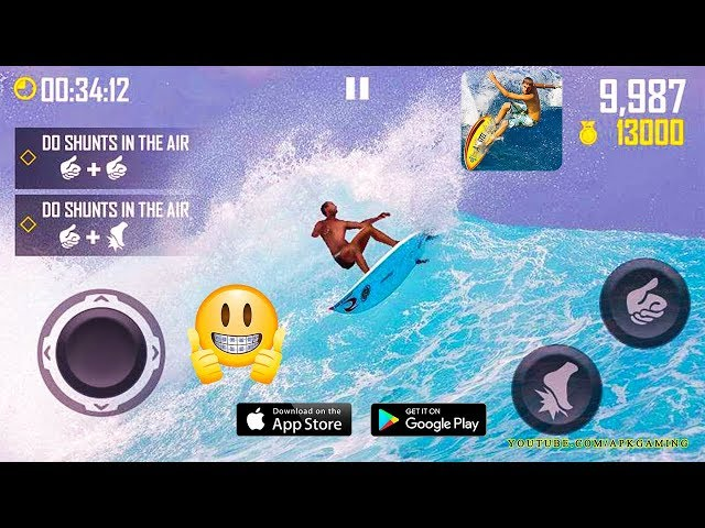 SURFING MASTER GAMEPLAY ANDROID/IOS ᴴᴰ 2018 | Apk Gaming