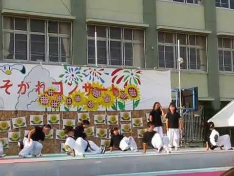 高津橋小学校たそがれコンサート2008 Kids Dance