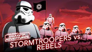 Episode 1.15 Stormtroopers vs Rebelles, soldats de l'Empire galactique (VO)