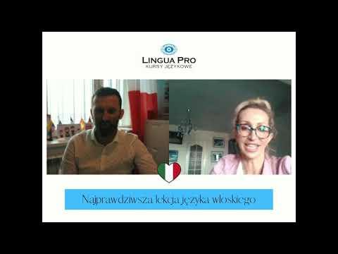 Kadr z filmu na youtube - Najprawdziwsza lekcja języka włoskiego 19_20