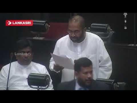 Ranjith-Siyambalapitiya-Parliment-Speech