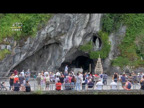 Chapelet à Lourdes du 27 juin 2020