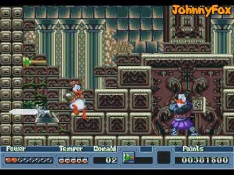 [Análise Retro Game] - QuackShot estrelando Pato Donald - Mega Drive 0