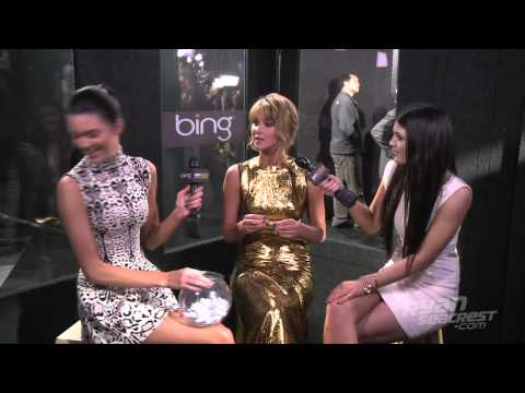 Kendall & Kylie At The Hunger Games Premiere | Interview | On Air With Ryan Seacrest
