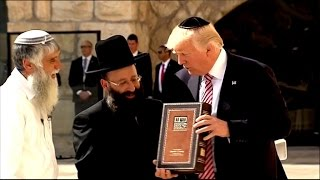 Trump makes history with visit to Western Wall