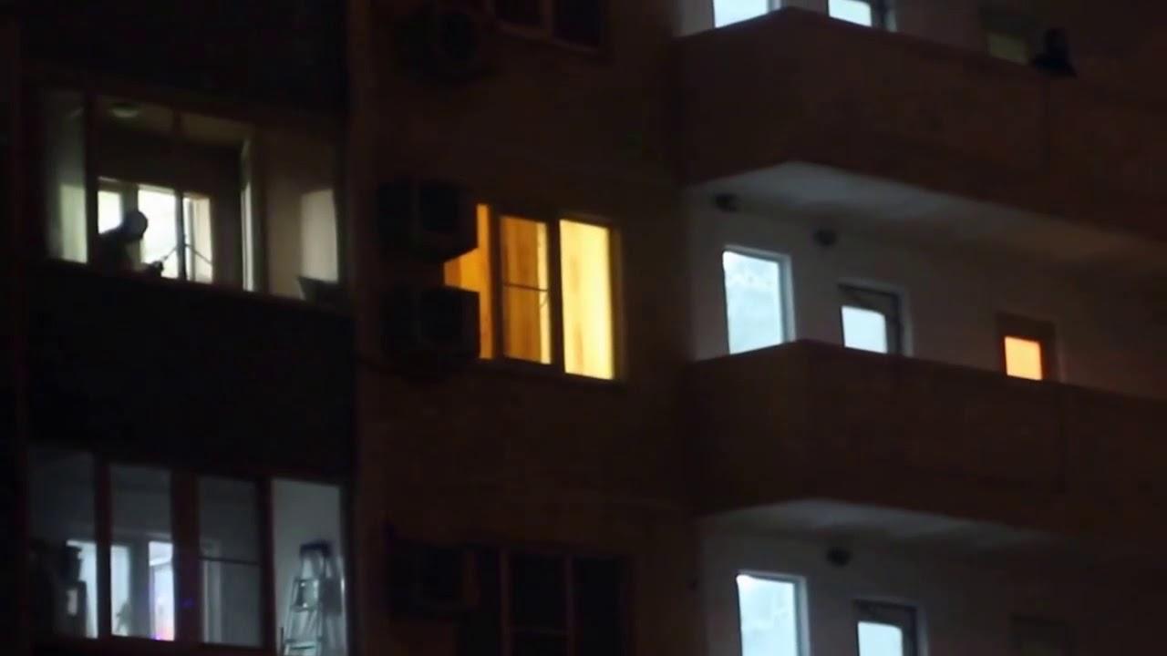 Это Краснодар, детка!  Новогодний залп из РПК прямо с балкона