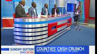 Analysing counties cash flow problems in counties