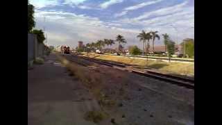 preview picture of video 'KANSAS CITY SOUTHERN DE MÉXICO PASANDO POR AGUASCALIENTES'