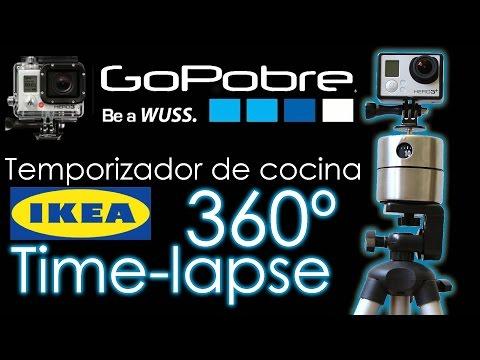 360º Time-lapse   Temporizador de cocina del IKEA   GoPobre #3