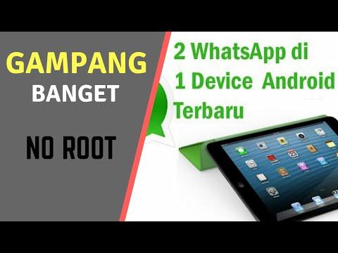 Video Cara Install 2 WhatsApp di Android Terbaru No.Root