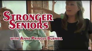 Balance Exercises for Seniors - Stronger Seniors Chair Exercise Program by Anne Pringle Burnell