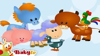Cat - Animal Sounds and Names for Kids & Toddlers | BabyTV