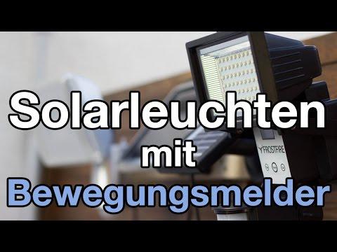 Zwei Solarleuchten getestet: Frostfire vs Brennenstuhl