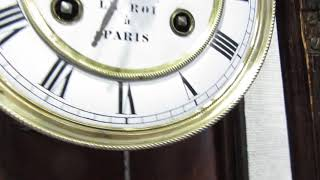 Часы настенные старинные Le roi a Paris