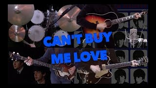 Cant Buy Me Love - Instrumental Cover - Guitars, Bass and Drums