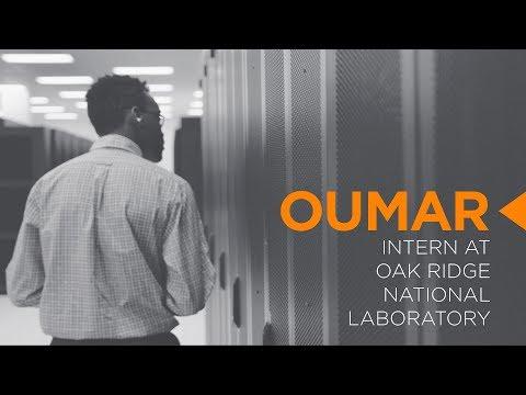 Undergraduate Research at ORNL - Oumar Diallo