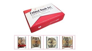 Folded Book Art Complete Starter Kit Product Video