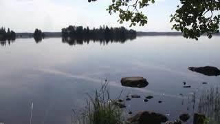 Рыбалка на озере меларен