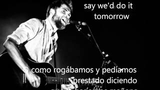 Passenger  - when we were young (lyrics in English and Spanish on screen)