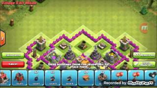 Gambar cover Clash Of Clans- New epic Town hall 7 HYBRID Base