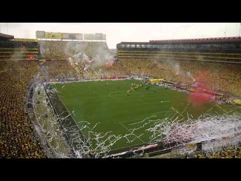 """Barcelona vs Olmedo Salida"" Barra: Sur Oscura • Club: Barcelona Sporting Club"