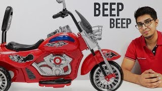 UNBOXING & LETS PLAY! - MOTORCYCLE CHOPPER Ride On - Harley Davidson style - by Best Choice Products
