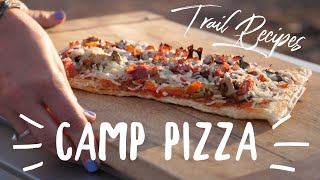 Camp Pizza - Cooking on the Trail with Mrs. Lifestyle Overland