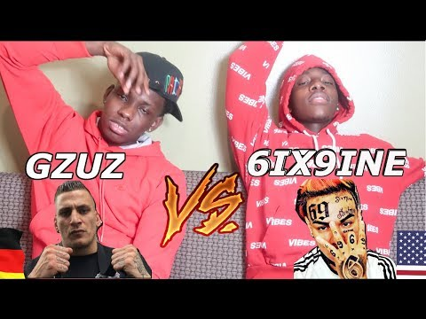 GZUZ 🇩🇪 VS. 6IX9INE 🇺🇸 - REACTION