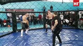 Финальный бой Максима Коновалова. Открытый турнир Костанайской области по жекпе-жек
