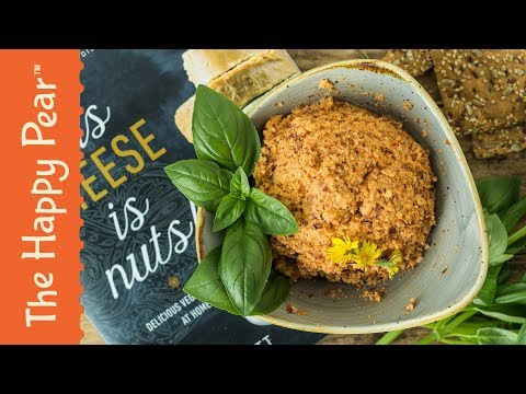 Vegan Red Cheddar Cheese | VEGAN CHEESE RECIPE