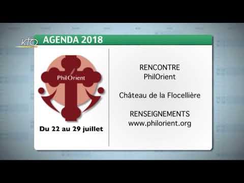 Agenda du 29 juin 2018