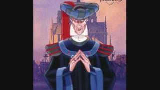 Disney music - Double song- Heavens light - Hellfire - Hunchback of Notre dame