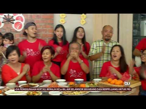 Tradisi Makan Besar Tahun BaharuCina