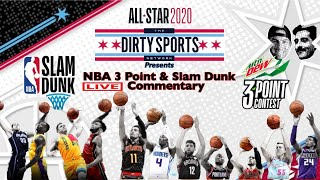 NBA 3 POINT/SLAM DUNK LIVE COMMENTARY