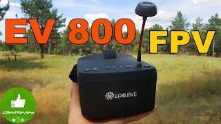 ✔ Eachine EV800 - Народный FPV шлем для квадрокоптера. $47! Banggood