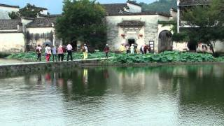 preview picture of video 'Hongcun Village 宏村 - 畫橋 day 5 - 47 ( China )'