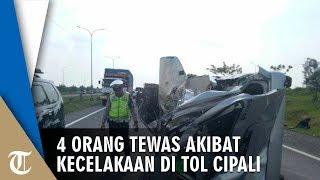 Sebanyak 3 Mobil Ringsek akibat Kecelakaan di Tol Cipali, Sempat Tabrak Petugas yang Babat Rumput