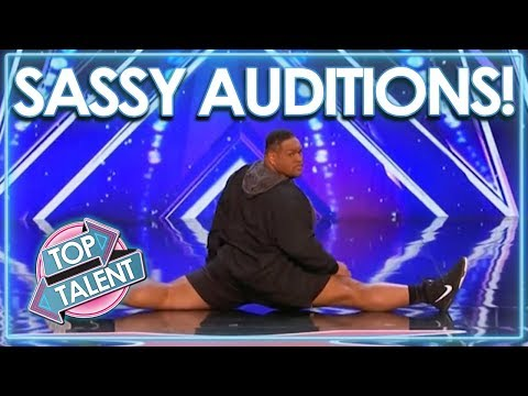 Sassiest Auditions From Got Talent, X Factor and Idols WORLDWIDE!   Top Talent (видео)