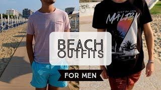 Beach Outfits For Men - Summer Lookbook 2017 | Karter Boys