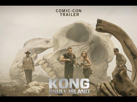 Video trailer för KONG : SKULL ISLAND Comic-Con Trailer