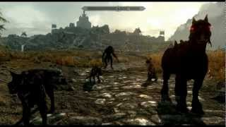 Skyrim Mods: Fun With A Wolf Pack (Omega Werewolf, Fenrir: Wolf Almighty & Wolf Companions)