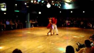 Ricardo & Viviana - World Salsa Champions, 2006, perform at the Lakeside, Frimley Green