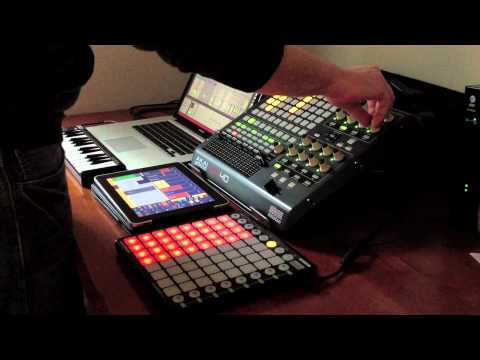 Progressive House Launchpad+iPad+Apc40 Demo