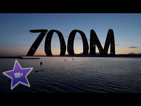 iMovie ZOOM Transition  – Easy Tutorial (10.1.6)