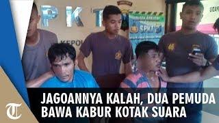 Capresnya Kalah, Dua Pemuda di Madura Bawa Kabur Kotak Suara hingga Kejar-kejaran dengan Polisi