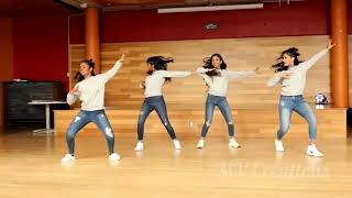 Love status song ♥️ Dance with four girls💃💃