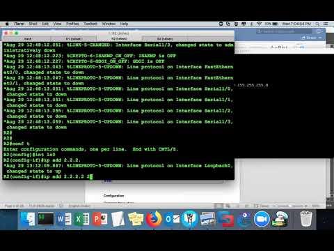 Cisco ASA Online Training: Class 1 - Basic Lab Part 1 - YouTube