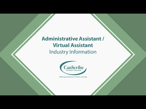 Administrative Assistant / Virtual Assistant Course - YouTube