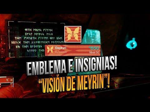 """*GUÍA* CÓMO CONSEGUIR EMBLEMA """"VISIÓN DE MEYRIN"""" Y ACTIVAR *3 INSIGNIAS*!"""