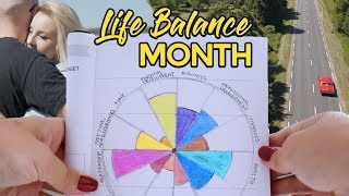 Create A Well Balanced Life: Step By Step Guide (LIFE BALANCE MONTH)